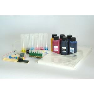 Kit de sublimation pour Epson 1400 1500W CISS Encre Papier
